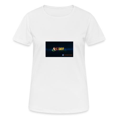 OhrBit Logo - Frauen T-Shirt atmungsaktiv