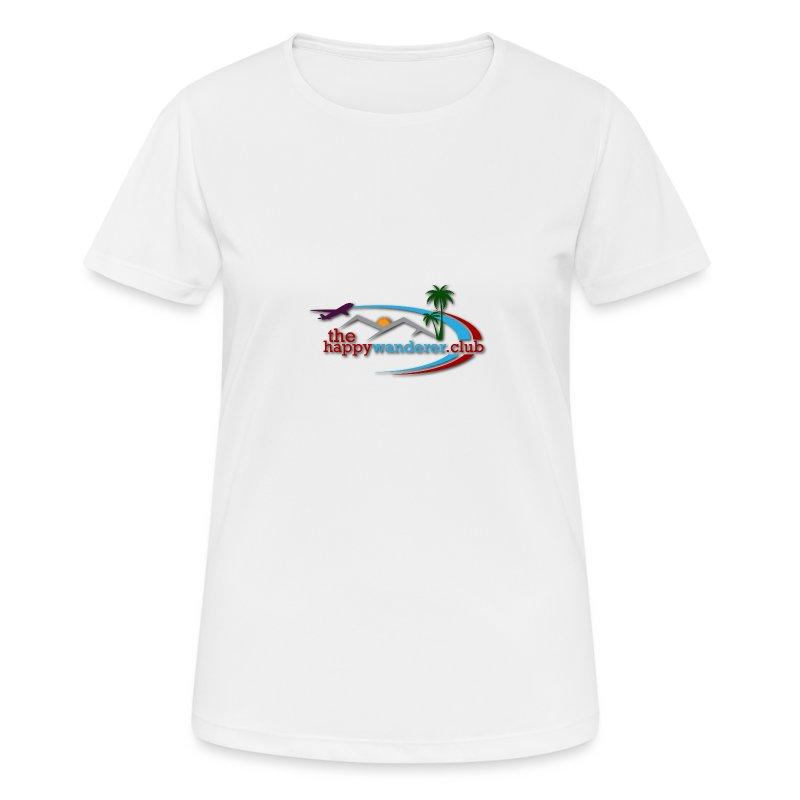 The Happy Wanderer Club Merchandise - Women's Breathable T-Shirt