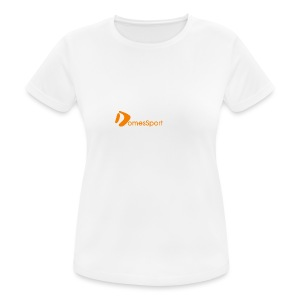 Logo DomesSport Orange noBg - Frauen T-Shirt atmungsaktiv