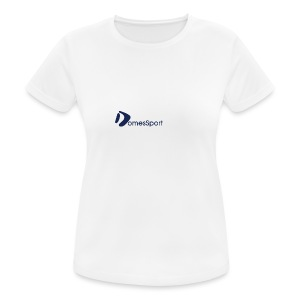 Logo DomesSport Blue noBg - Frauen T-Shirt atmungsaktiv