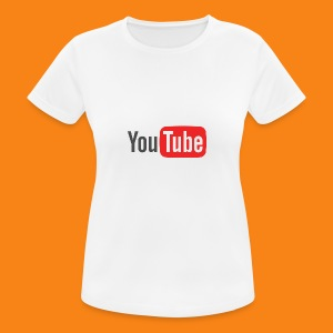 Youtube-logo-2014 - Camiseta mujer transpirable