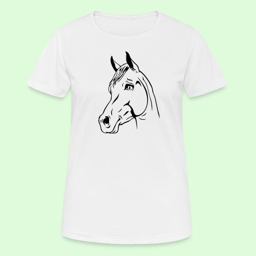 Tête de cheval - T-shirt respirant Femme