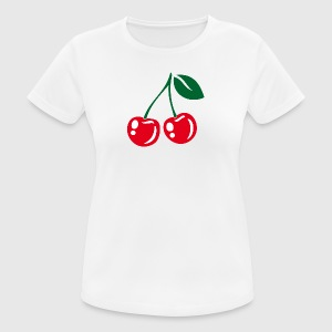 Cherries - Frauen T-Shirt atmungsaktiv