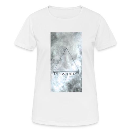 THE WIDE EYE Motiv A - Andningsaktiv T-shirt dam