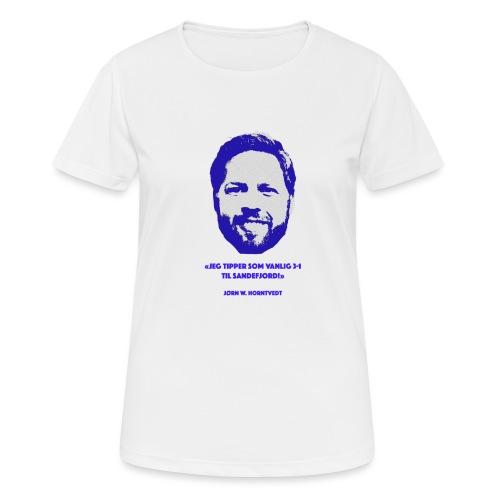 Horntvedt - Pustende T-skjorte for kvinner