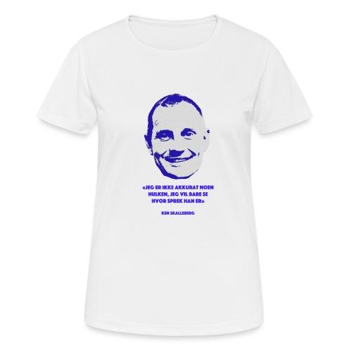 Skalleberg - Pustende T-skjorte for kvinner
