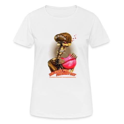 headCRASH pills 2 - Frauen T-Shirt atmungsaktiv