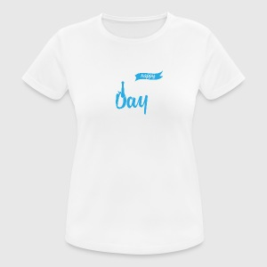 Vatertag: Happy Father´s Day - Frauen T-Shirt atmungsaktiv