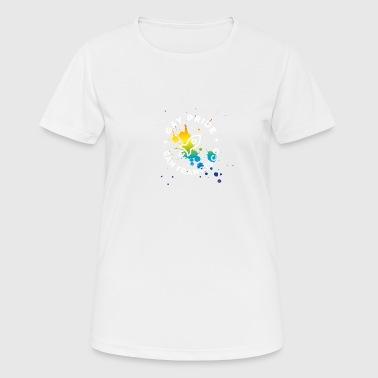 Gay San Francisco csd Pride Festival Rakete spritz - Frauen T-Shirt atmungsaktiv