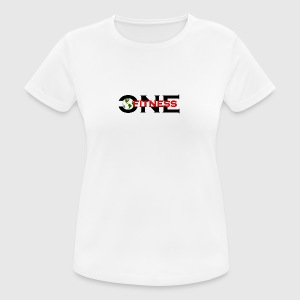 ONE FITNESS Logo - Women's Breathable T-Shirt