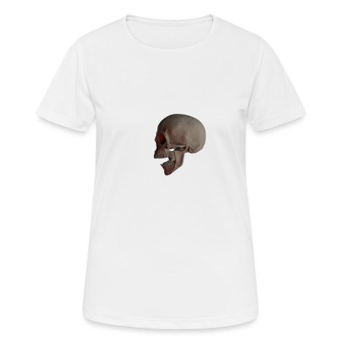 Teschio - Maglietta da donna traspirante