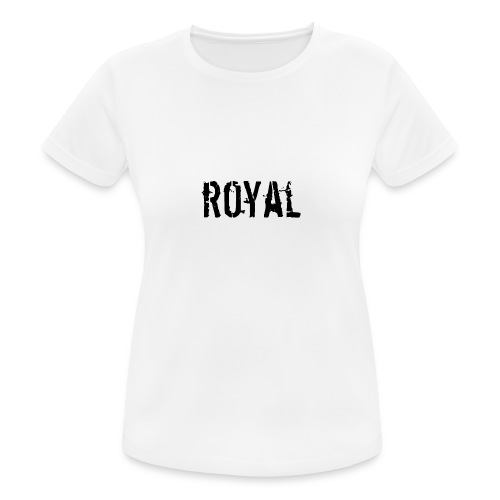 RoyalClothes - Vrouwen T-shirt ademend actief
