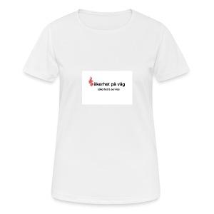 SakerhetPaVag - Andningsaktiv T-shirt dam