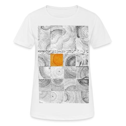 Cubes de Bois - T-shirt respirant Femme