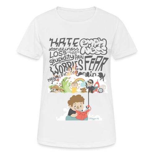 Bücher sind Freunde - Frauen T-Shirt atmungsaktiv