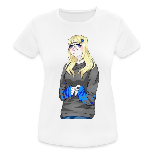 Sad-chan v2 - Women's Breathable T-Shirt