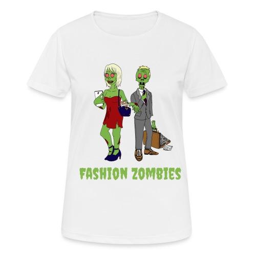 Fashion Zombie - Women's Breathable T-Shirt