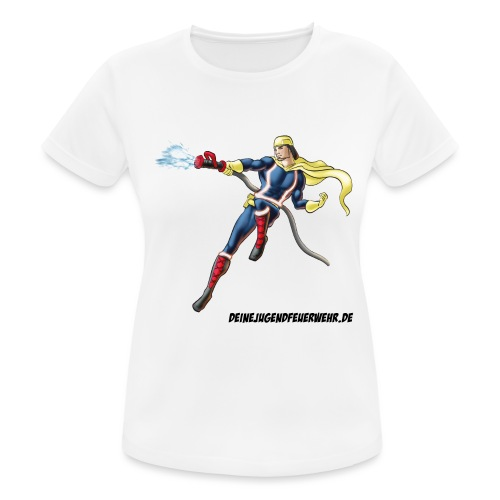 Captain Firefighter - Frauen T-Shirt atmungsaktiv