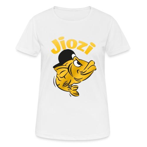 Jiozi Official Logo - Maglietta da donna traspirante