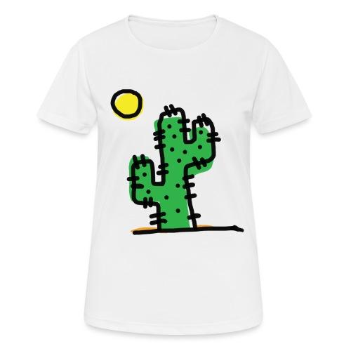 Cactus single - Maglietta da donna traspirante