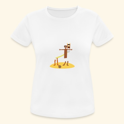 Kokosnoten zijn geen specerijen - Vrouwen T-shirt ademend actief