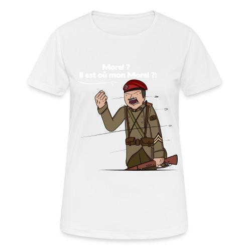 Sgt.Flantier 1940 - T-shirt respirant Femme
