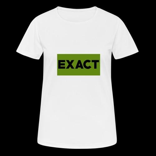 Exact Classic Green Logo - Women's Breathable T-Shirt