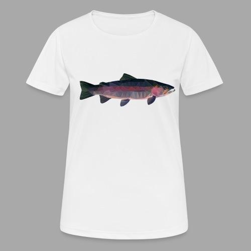 Trout - naisten tekninen t-paita