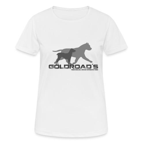 Goldroads - Andningsaktiv T-shirt dam