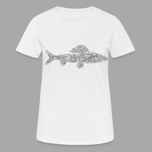 grayling - naisten tekninen t-paita