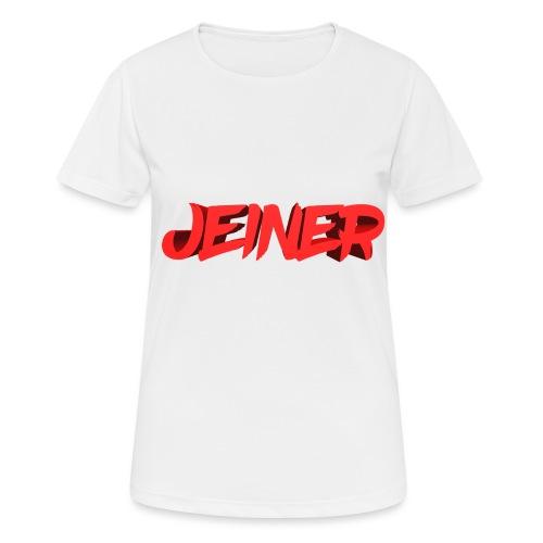 Jeiner 3D - Dame T-shirt svedtransporterende