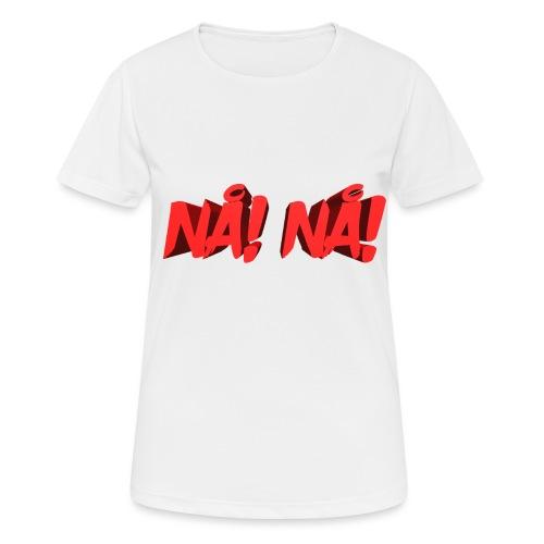 NÅ! 3D - Dame T-shirt svedtransporterende