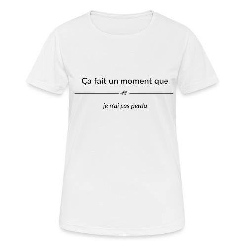 cafaitunmomentque jenaipa - T-shirt respirant Femme