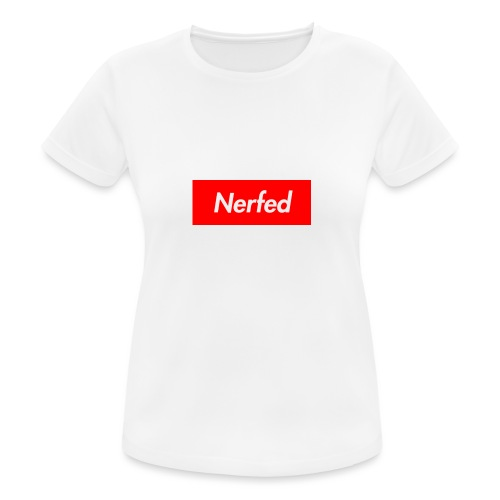 Nerfed Box Logo - Women's Breathable T-Shirt