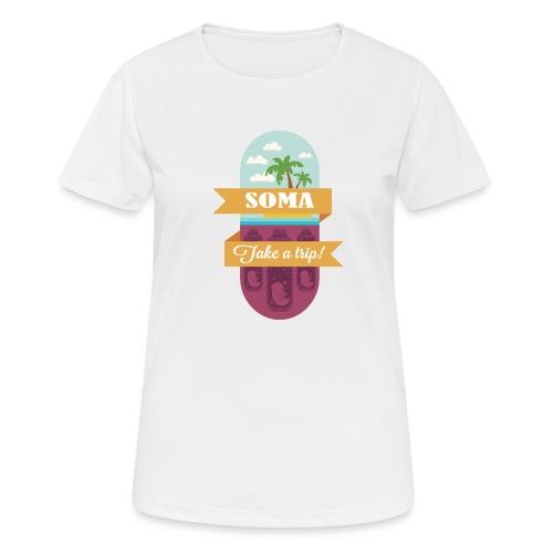 Soma - Il mondo nuovo - Aldous Huxley - Maglietta da donna traspirante