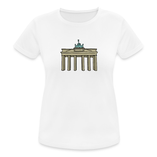Brama Brandenburska BERLIN c - Koszulka damska oddychająca