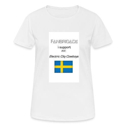 Fanbrigade - Dame T-shirt svedtransporterende