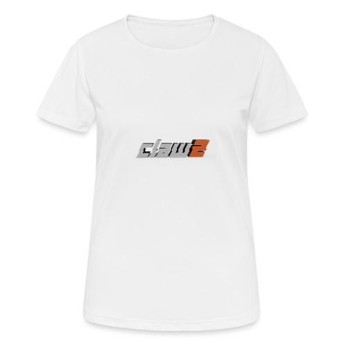 ClawZ Logo - Andningsaktiv T-shirt dam