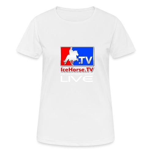 IceHorse logo - Women's Breathable T-Shirt