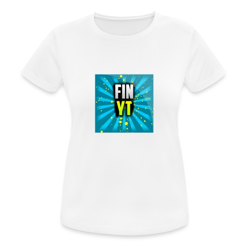 Uusi Youtube Logo - naisten tekninen t-paita