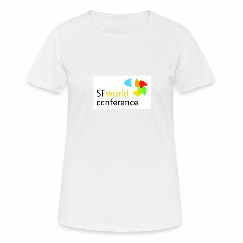 SFworldconference T-Shirts - Frauen T-Shirt atmungsaktiv