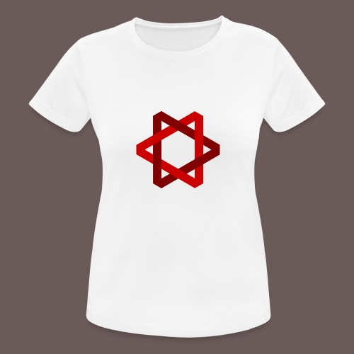 Two Triangles - Dame T-shirt svedtransporterende