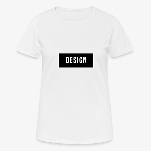 design logo - vrouwen T-shirt ademend