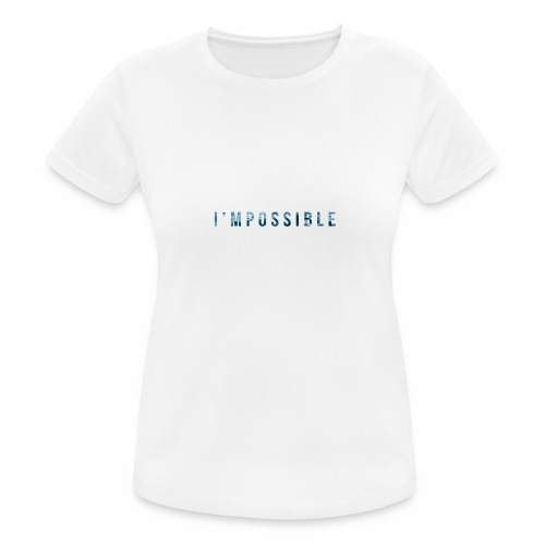 I'mpossible Waves - Women's Breathable T-Shirt