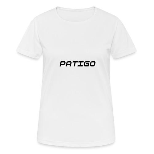 PATIGO - Dame T-shirt svedtransporterende
