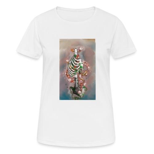 scheletrokoi - Maglietta da donna traspirante