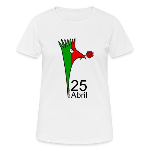 Galoloco - 25 Abril - Frauen T-Shirt atmungsaktiv
