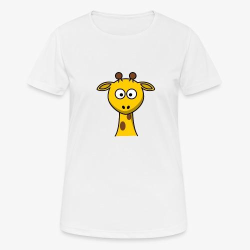 giraffe - Maglietta da donna traspirante
