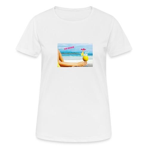 vipreiser 2017 design - Pustende T-skjorte for kvinner