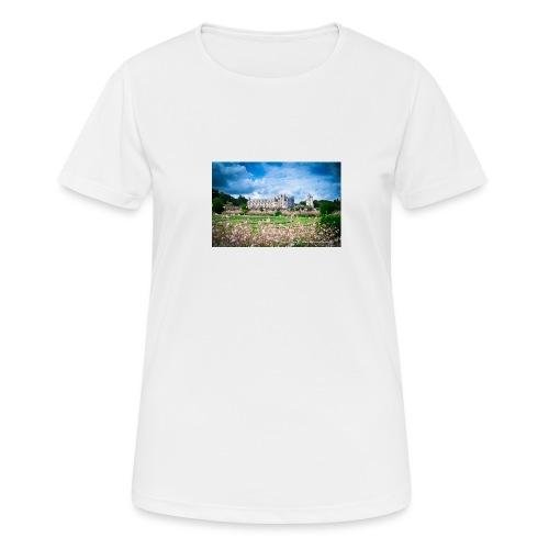 Barbara Mapelli - Castello di Chenonceau, Francia - Maglietta da donna traspirante